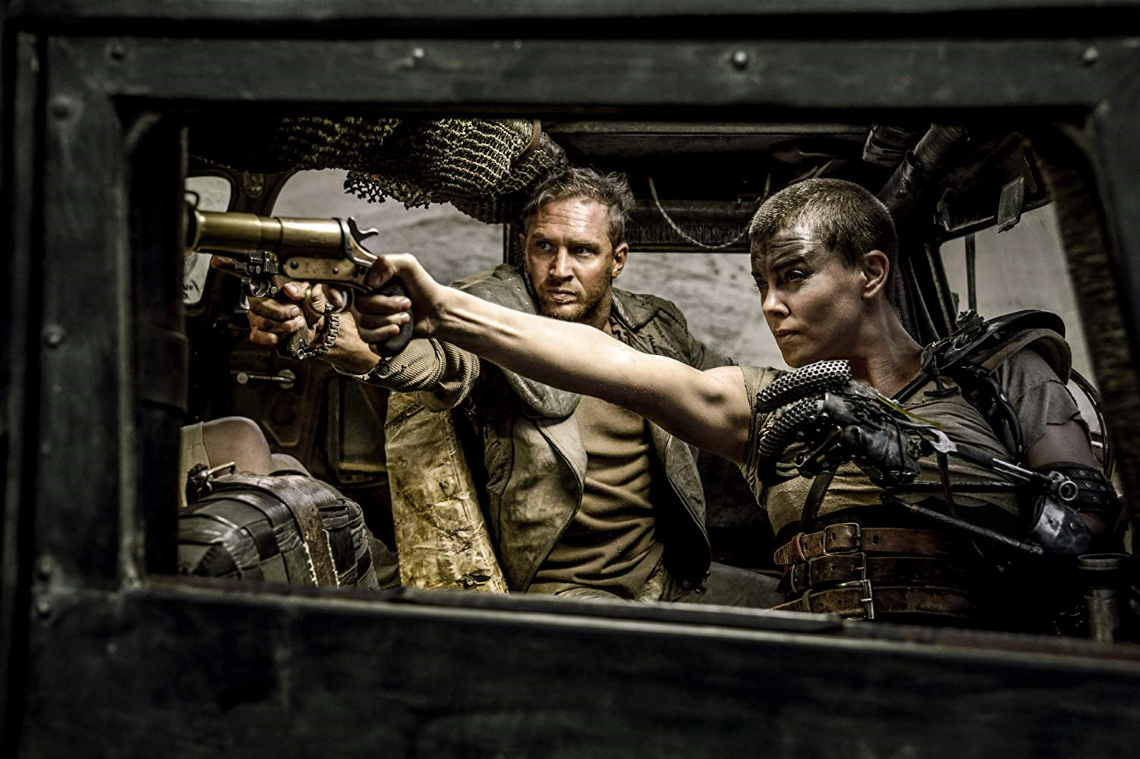 A still from 'Mad Max: Fury Road'.