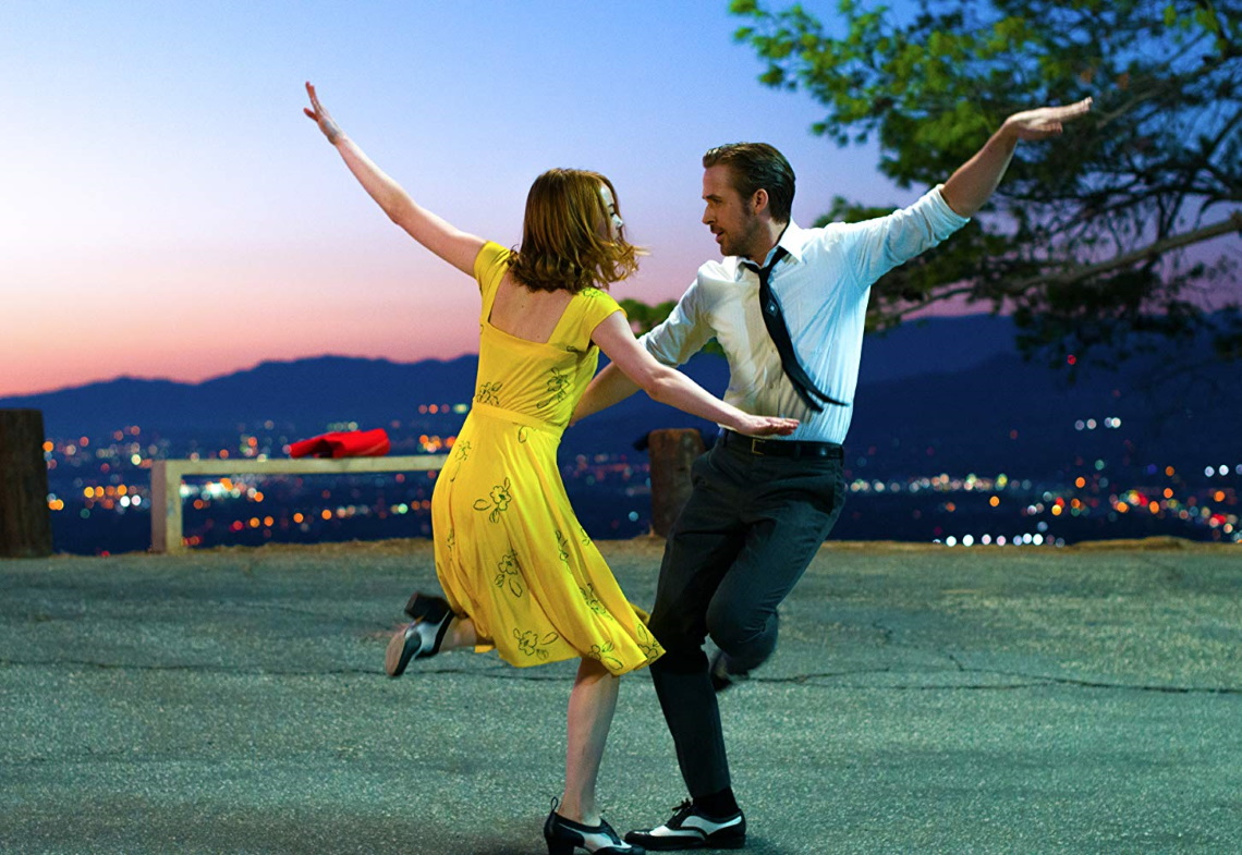 A still from 'La La Land'.