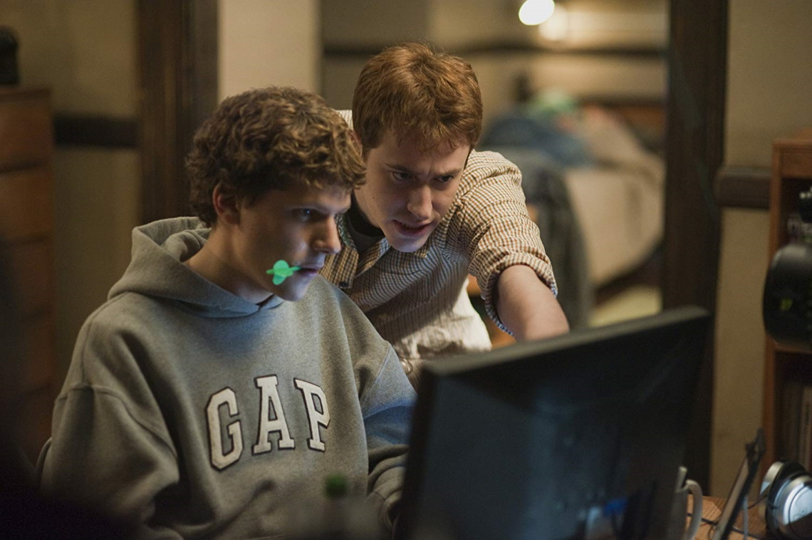 A still from 'The Social Network'.