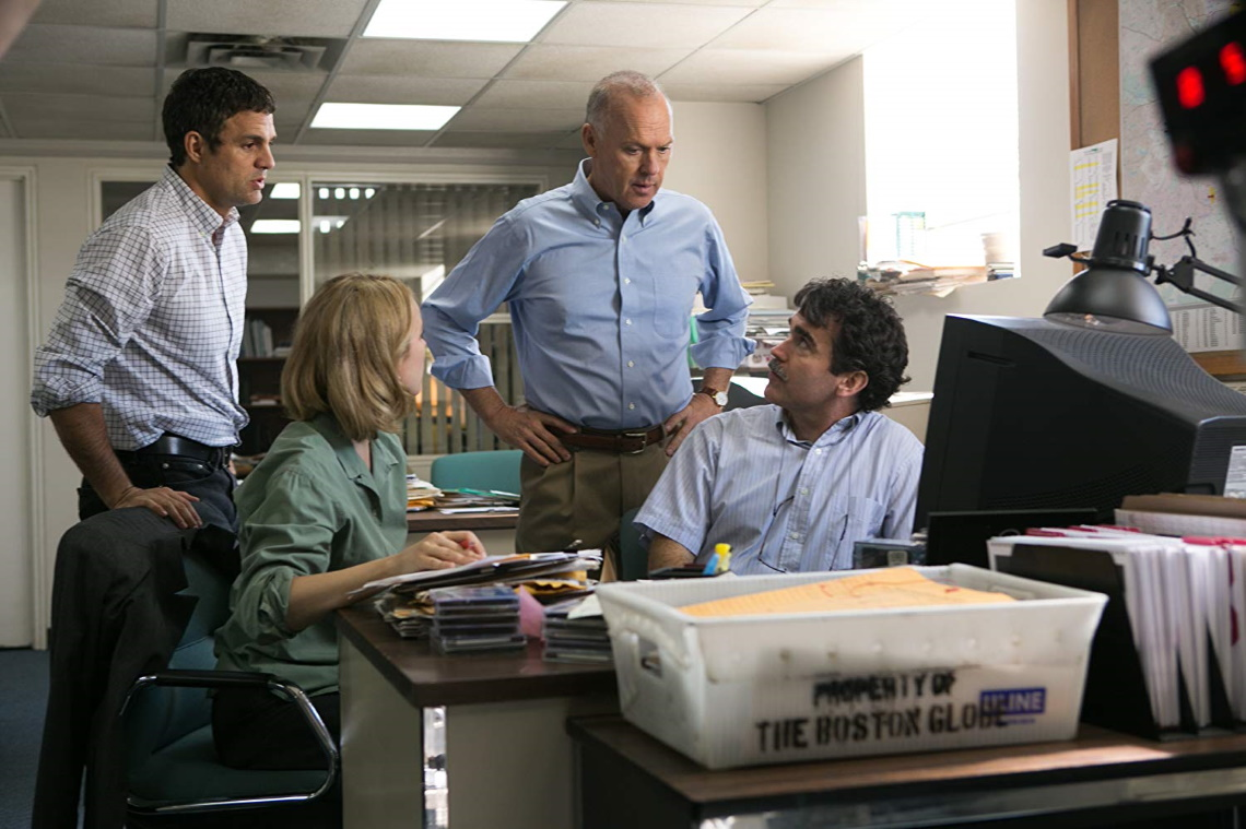A still from 'Spotlight'.
