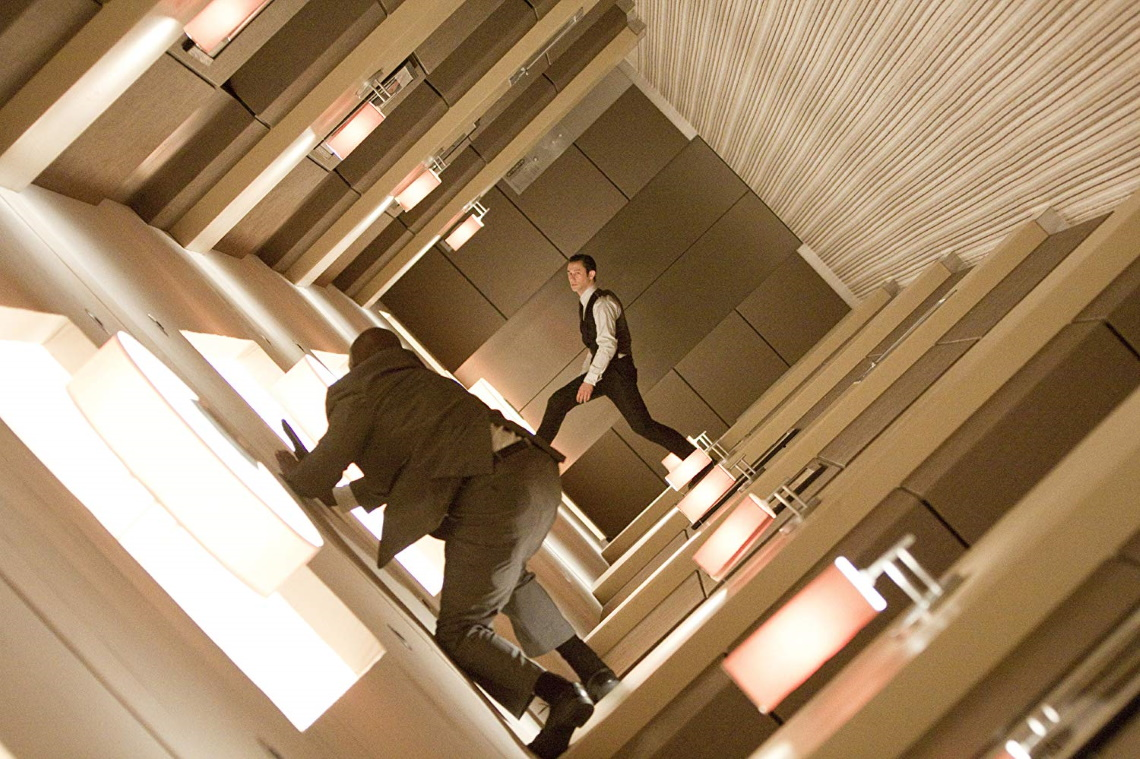 A still from 'Inception'.
