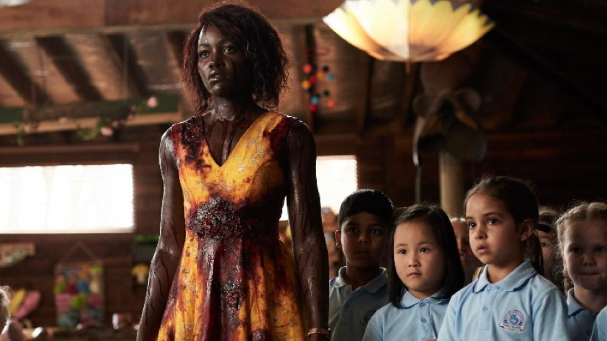 Miss Caroline (Lupita Nyong'o) faces a very kid-unfriendly threat in Little Monsters.