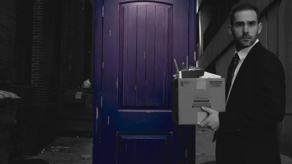 The Man and the Purple Door
