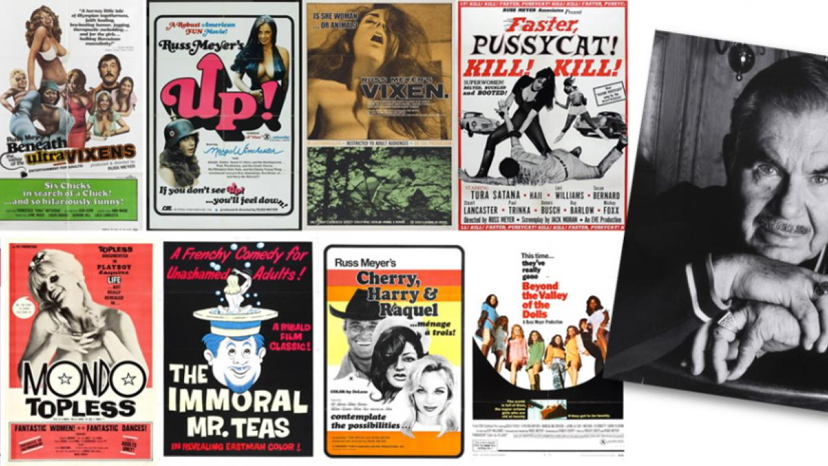 Posters from the ten best films of director Russ Meyer.