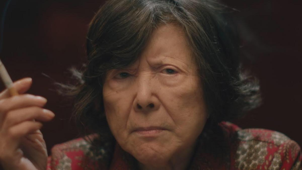 Tsai Chin is a eldery widow who becomes entangled with local gangsters in Sasie Sealy's 'Lucky Grandma'.