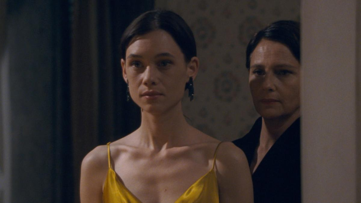 Astrid Bergès-Frisbey (left) and Anouk Grinberg portray the younger and older versions of a woman struggling with decades of unresolved grief in Charlotte Dauphin's 'The Other'.