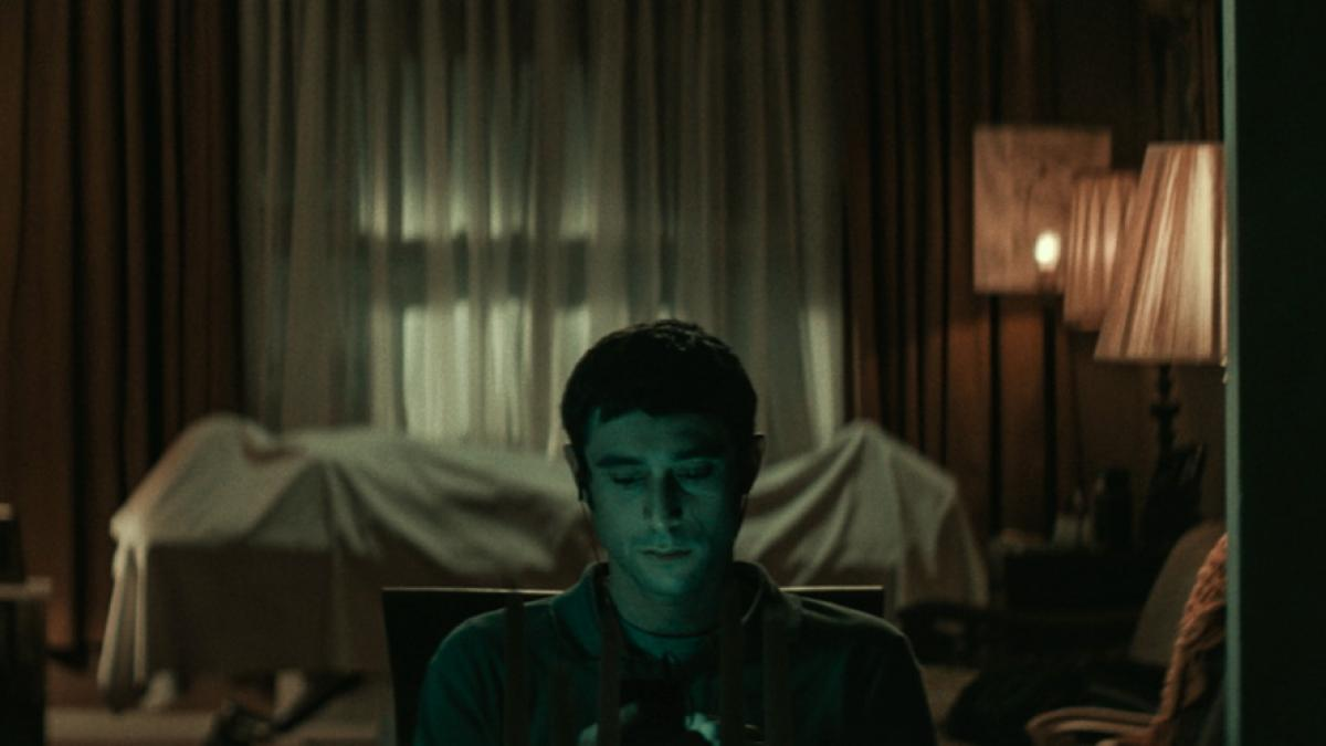 A still from 'The Vigil'.