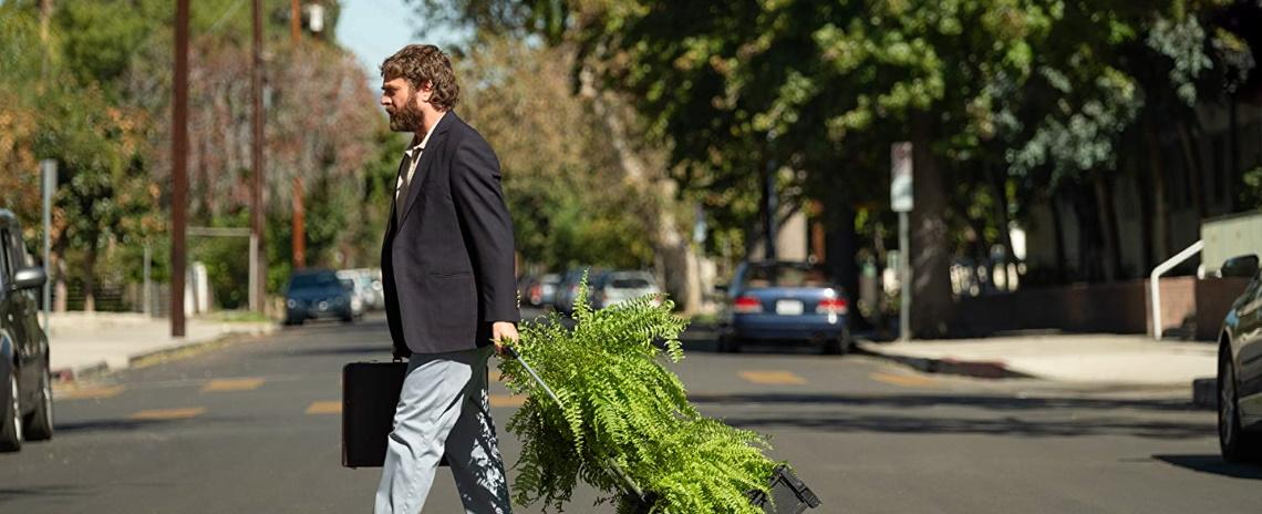 Zach Galifianakis (as himself) searches for talk-show fame in Between Two Ferns: The Movie.