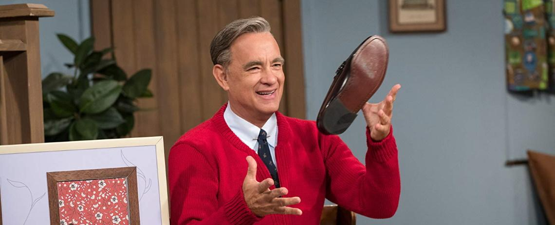 Marielle Heller's 'A Beautiful Day in the Neighborhood' is not really about Fred Rogers (Tom Hanks).